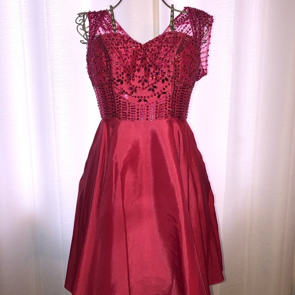 Splash Dresses Hot Pink Short Prom Dress With Pockets Poshmark